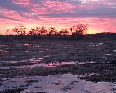 Quiet Heart Images: Sanctuary &emdash; Sanctuary Sunset I